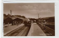 More details for railway station, banchory: kincardineshire postcard (c28175)