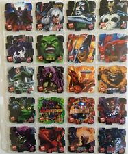 Marvel Avengers Heroes 2005 Tazos-Pogs Complete Set Of 50 In Mint Condition