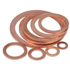 M5-M14 Copper washers Suitable for Brake Banjo bolts & Metric   sealing Fittings