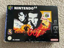 GoldenEye 007   Nintendo N64 PAL   Boxed