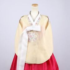 """Hanbok Korean Traditional Costume Dress Set Woman 한복 M-size 5' 7"""" (170cm) A181"""