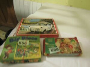 Vintage Children's Puzzle Bundle
