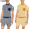 Mens Button Up Jumpsuit Casual Pants Rompers Shorts Short Sleeve Playsuits Pants
