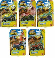 Hot Wheels 2020 Monster Trucks - SpongeBob Squarepants Complete Set of 5 GKD15