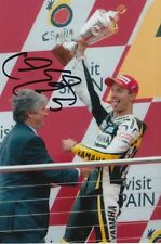 COLIN EDWARDS HAND SIGNED TECH 3 YAMAHA 6X4 PHOTO.