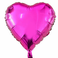Cute Heart Helium Balloon Star Foil Balloons Inflatable Gift Birthday DIY Baloon