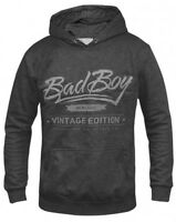 Bad Boy Vintage Edition Charcoal MENS Hoodie,Fleece,BJJ,MMA,UFC,Affliction