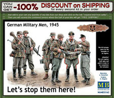 """Master Box 35162 """"Let's stop them here!"""" German Military Men, 1945 Scale 1/35"""