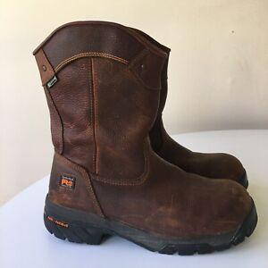 Timberland Pro 88537 Helix Waterproof Wellington Composite Toe Boot