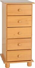 Sol SOLID ANTIQUE PINE WARDROBE OR CHEST OF DRAWERS OR BEDSIDE FREE DELIVERY
