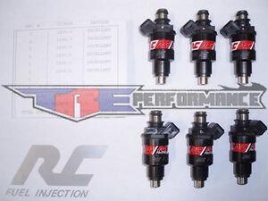 RC 550cc Combustible Inyectores Para Honda Turbo Acura Nsx Vtec Dohc 3.0L 3.2L