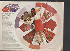 Glidden Decorating Color Wheel 1969 Ad Circular Paint