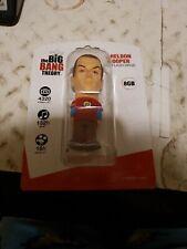 Big Bang Theory Ultra Rare Real Sheldon Cooper Flash Drive 8GB NIP