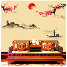 deko wandtattoos wandbilder im orientalisch asiatisch stil f r badezimmer g nstig kaufen ebay. Black Bedroom Furniture Sets. Home Design Ideas