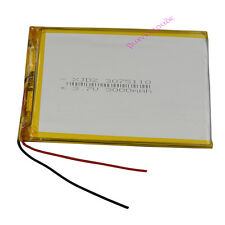 3.7V 3000mAh Rechargeable Polymer Lipo Li Battery For GPS iPod Tablet PC 3075110