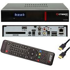 Octagon sf138 e2 HEVC h.265 HD Red FullHD Linux Cavo dvb-c/t2 TV Receiver