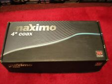 "BRAND NEW IN THE BOX MOREL MAXIMO 4"" COAX 4C"