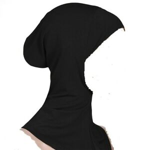 Muslim Under Hijab Jersey Pullover Tube Inner Head Hair Neck Cover Many Colours