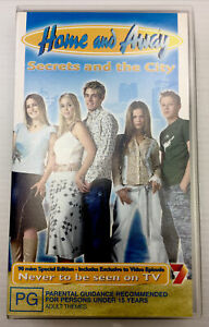 Home And Away Secrets And The City VHS Video Cassette Tape PAL PG