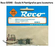 ROCO 02590 S ESCALA N - PANTOGRAFOS PARA LOCOMOTORA ELECTRICA - NUEVOS  (c96)