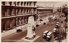 LONDON UK CENOTAPH & WHITEHALL~PHOTO POSTCARD 1920s