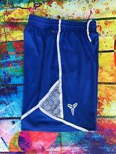 Kobe Bryant Nike Basketball Shorts Dri-Fit Retro Men's L Blue /White Mamba Elite