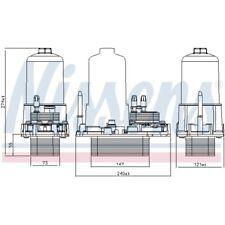 Nissens Ölkühler Motor Öl Kühler 91120