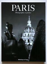 PARIS - PHOTOGRAPHIES ET POEMES - LIBRO FOTOGRAFICO - CARTIER BRESSON - KERTESZ
