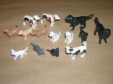 LOT PLAYMOBIL / BISON, ELEPHANTS, OURS, LION... / 14 PIECES / TRES BON ETAT