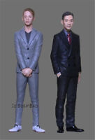 1/24 Scale 75mm Boss And Understrapper In Suit Resin Figure Unpainted Garage Kit