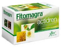 Aboca FITOMAGRA ACTIDREN Té de hierbas Drenante 100% Bio Diente de león Herbario