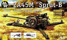 Military Wheels 1/72 2A45M Sprut-B Anti-tank Gun # 7231