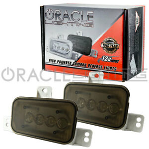 2010-2015 Camaro Oracle LED Reverse Lights Set of 2 Tinted 4W 3003-020