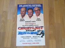 CAUGHT in the NET inc Russ ABBOT & Eric SYKES Vaudeville Theatre Original Poster