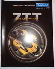 *Cub Cadet ZTT 42, ZTT 46, ZTT 50 Zero Turn Tractor Sales Brochure literature ih
