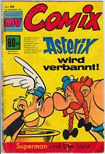 MV COMIX 1969 Nr. 24 (3) schlechter Zustand mit Superman Mickyvision ab 1962