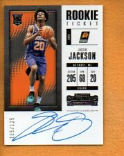 Josh Jackson 2017-18 Playoff Contenders Rookie Season Ticket Rc Auto #104 /125