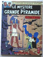 Blake & Mortimer Le Mystère de la Grande Pyramides T 1 JACOBS éd Dargaud 1969
