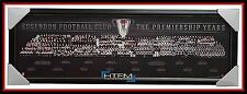 Essendon The Premiership Years Montage AFL Official Licensed Print Framed WATSON