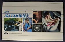 1988 Ford Accessories Brochure LTD Crown Victoria Mustang Thunderbird Taurus EXP