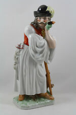 "Herend Hungary Shepherd Peasant Leaning on a Stick, 11.5"", Handpainted 5427"