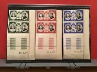 Monaco 1956 Mint Never Hinged Stamps Blocks   R36949