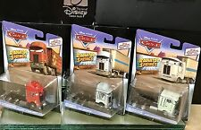 Disney Cars Haulers, Jerry Recycled Batteries, Chet Boxkarr, Ben Crankleshaft