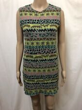 MISSONI SPORT DRESS WOMENS ~ SZ 44 AU 12 ~ EXC COND KNIT KNITTED COLORFUL DESIGN