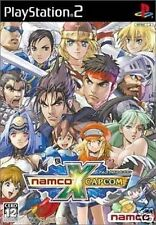 Used PS2 Namco x Capcom  SONY PLAYSTATION JAPAN IMPORT