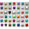 STRING CORD SEQUINS  6mm ROUND SEW-ON TRIM DRESS MAKING CRAFTS *42 COLOURS*