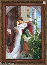 EMBROIDERY KIT COUNTED CROSS STITCH KIT CRYSTAL ART ROMEO AND JULIET BT-034