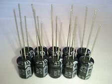10PCS 47UF 47mfd 63V Electrolytic Capacitor 105 degrees + USA FREE SHIPPING