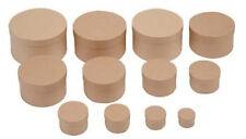 Boîtes en carton rond 12tlg. 40-150mm