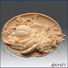 2D Silicone Soap Mold - Fruitful Harvest - Free Shipping